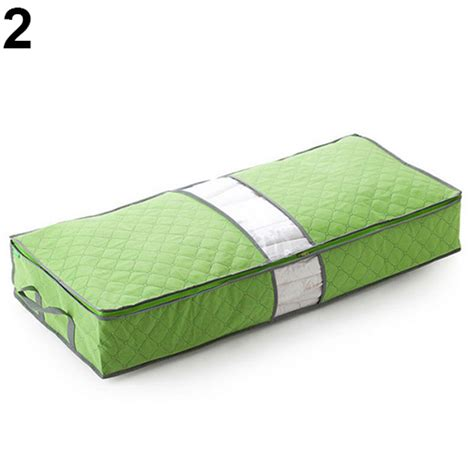 pillow storage 1 pcs clothes duvet zipped handles clothing pillow storage