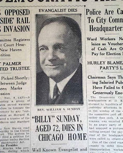 spectacular career of rev billy sunday baseball evangelist classic reprint books billy sunday s rarenewspapers