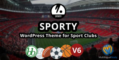 moodle themes kostenlos sporty responsive wordpress theme for sport clubs by