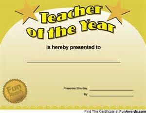 Funny teacher awards printable award certificates for teachers