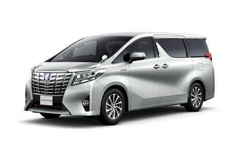 latest toyota toyota unveils new alphard and vellfire minivans in japan