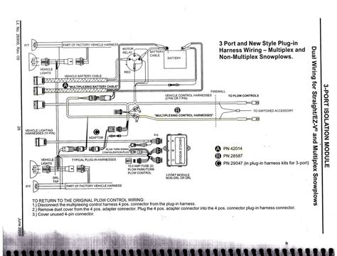snow plow light wiring diagram plow free