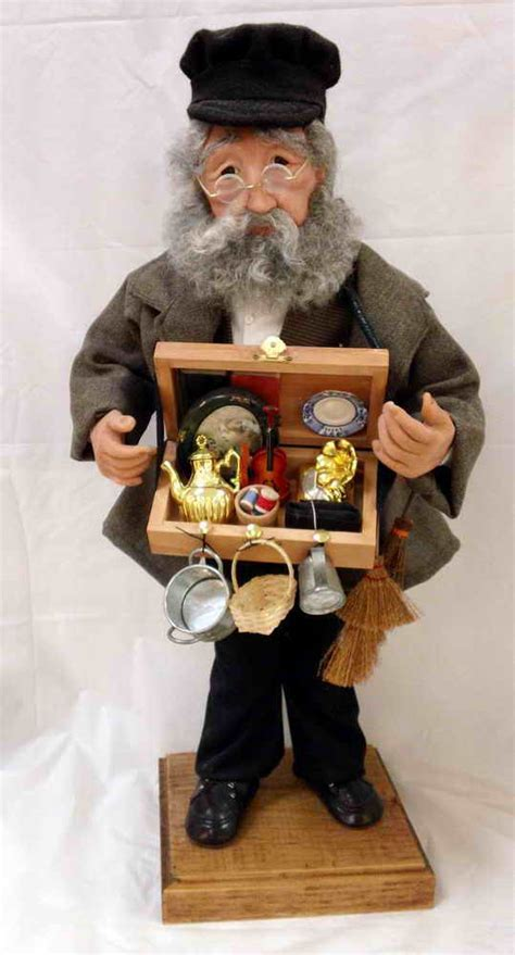 The Peddler Character Doll