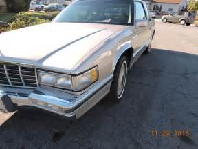 91 Cadillac Coupe 1991 Cadillac Coupe 49k Original 2 Door