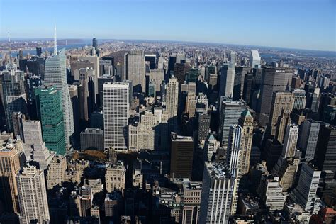 New City Top new york city empire state building 14a view times