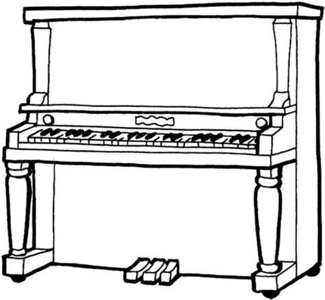 coloring page piano keys piano coloring page free printable coloring pages