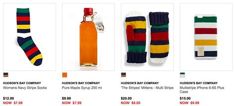 Hudson S Bay Canada Offers - hudson s bay canada deal hbc collection starting at 6