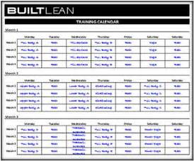 template for exercise program free workout log template strength