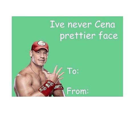 printable john cena birthday cards 29 best valentines day images on pinterest valentine day