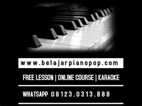 cara membuat lu tidur awan belajar piano cara membuat reharmonisasi lagu bunda youtube