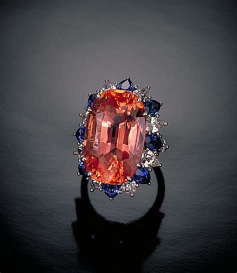 Orange Safir Srilanka padparadscha sapphire from sri lanka history