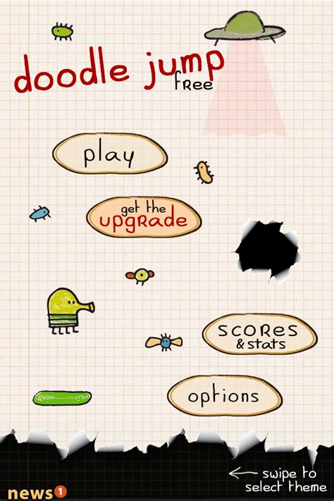 doodle bouncing bounce forever upward in doodle jump free