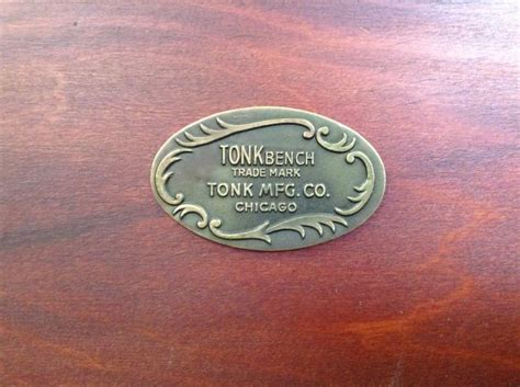 tonk bench chicago vintage cherry tonk mfg chicago piano bench