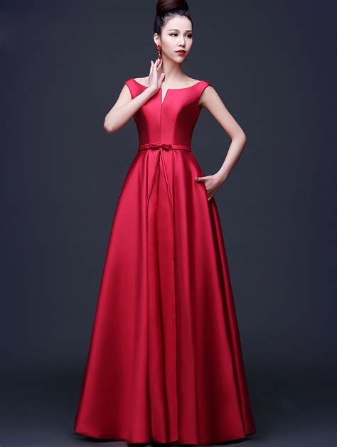 desain dress simple elegan aliexpress com buy newest arrival elegant red evening