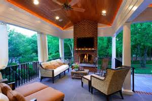 covered porch shillington traditional deck charlotte by alair homes charlotte