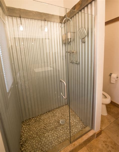 galvanized bathroom galvanized shower for the basement bathroom home decor