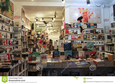 interior book bookshop editorial stock image image 35043404