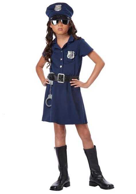 cop costume officer costume