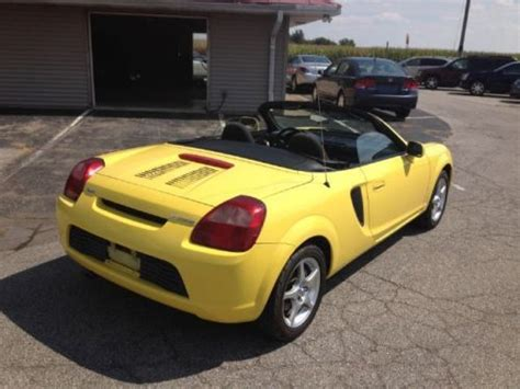 how cars run 2002 toyota mr2 navigation system purchase used 2002 toyota mr2 spyder base convertible 2 door 1 8l 2 owner 91k miles in