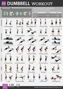 at home dumbbell workout dumbbell exercises workout posters and home gyms on
