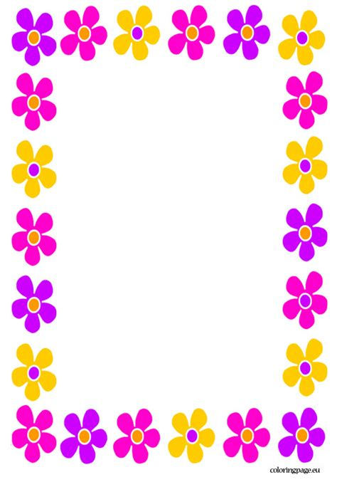 8 best images of free printable s day borders