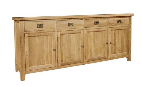 4 Door Oak Sideboard chiltern grand oak 4 door sideboard oak furniture solutions