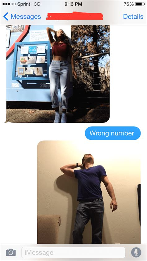 funniest responses  wrong number texts weve