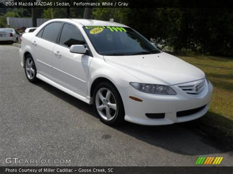 2004 mazda 6i specs performance white 2004 mazda mazda6 i sedan gray