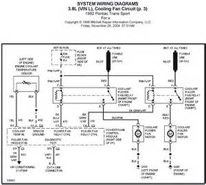 v manual 1992 pontiac trans sport 3 8l vin l cooling fan circuit p 3 system wiring diagrams