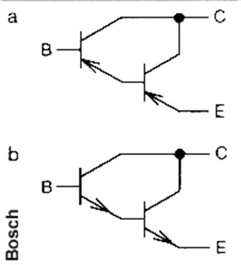 darlington transistor als schalter schaltsymbole der kfz technik