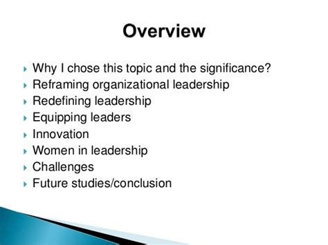 Mba Thesis Topics In Leadership by Mba 592 Thesis Leadership Trends In The 21st Century