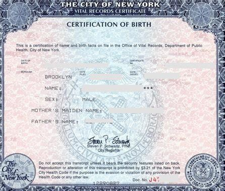 birth certificate new york letter of exemplification letter of exemplification nyc docoments ojazlink