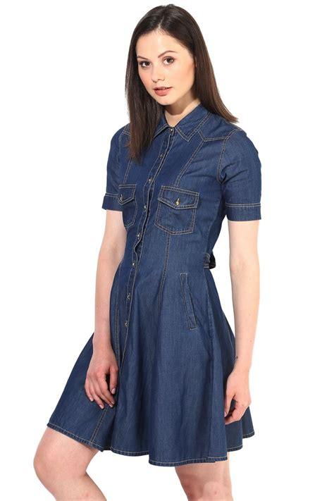 Dresa Denim denim dress in light blue s denim wear the