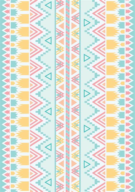 tribal pattern pastel wallpaper vintage lover f is for fashion fix aztec