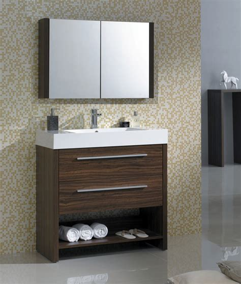 36 Inch Bathroom Vanity Mv79200l Modern Vanities For Bathrooms