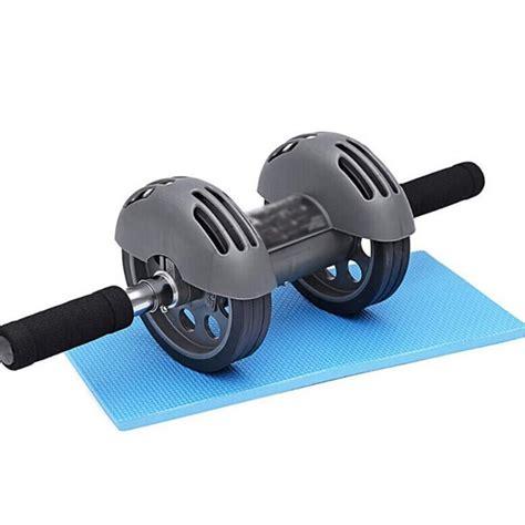 wheeled abdomen machine abdominal muscle roller aaa