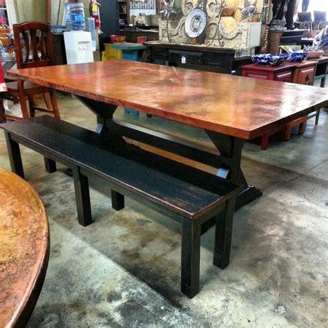 copper top dining room tables marceladick com 60 best copper table images on pinterest copper table
