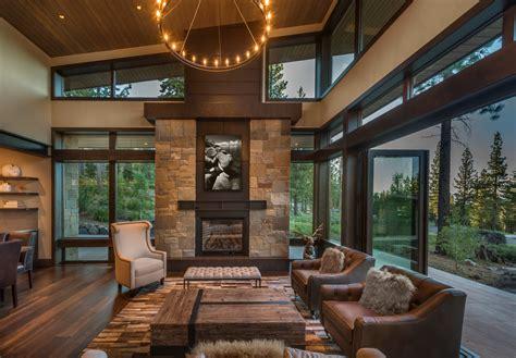 stunning rustic living room interior designs