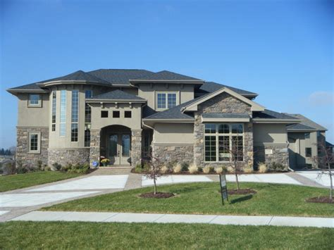 Advanced House Plans by The Fairchild Mediterranean Exterior Omaha By