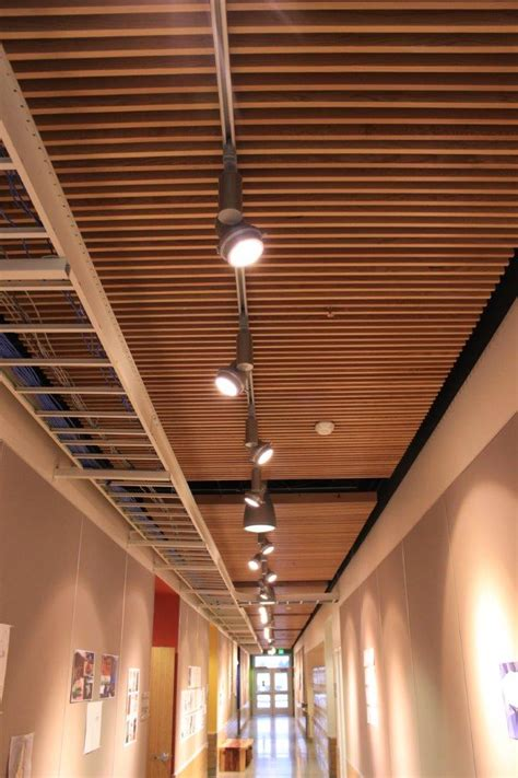 Suspended Wood Ceiling Projects Lng Construction Llc