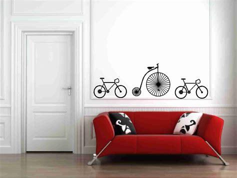 wall vinyl sticker bicycles wall vinyl decals sticker on luulla