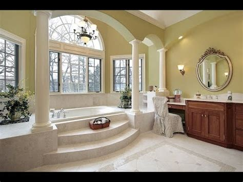 spacious master bathroom design ideas youtube