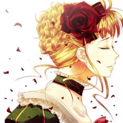 blondes video games dress flowers tears wind umineko