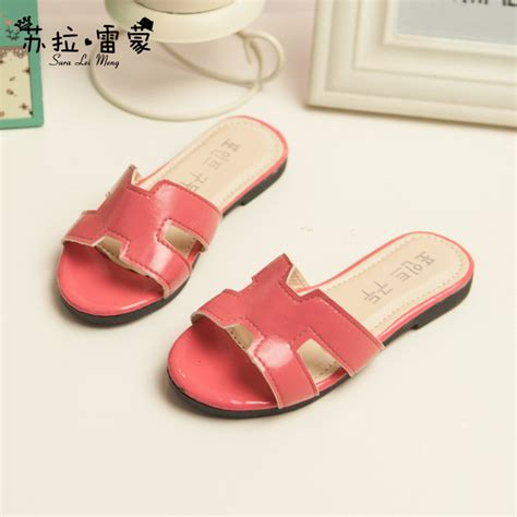 korean slippers 2015 new model shoes slippers with geometric