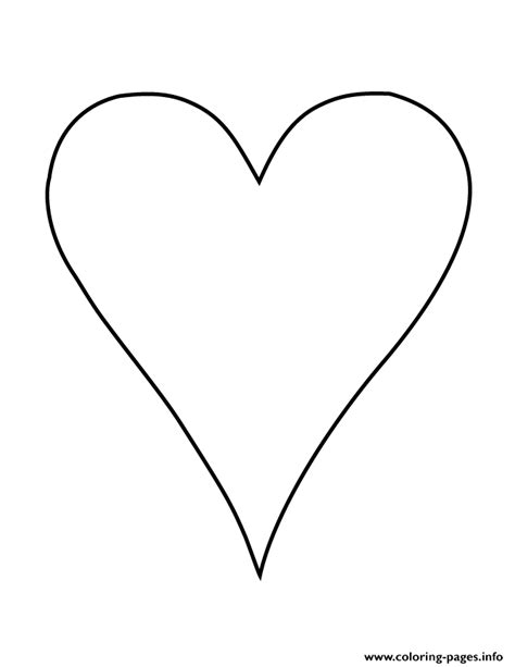 coloring page of a heart shape long heart shape coloring pages coloring pages heart shape