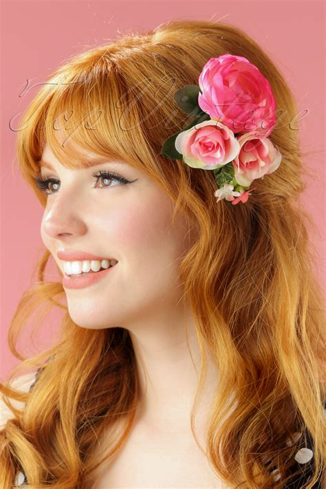 Retro Hair Clip vintage hair accessories combs headbands flowers scarf