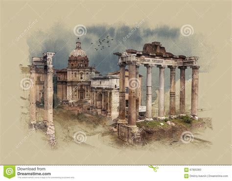il giardino delle arance roma le forum 224 rome italie croquis d aquarelle