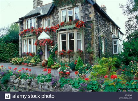buy house lake district bed and breakfast house lake district cumbria england stock photo royalty free image
