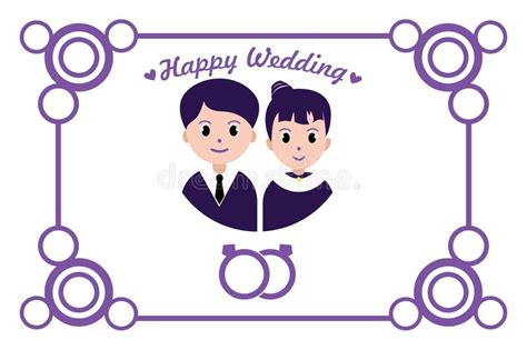 Happy Wedding Card Template by Happy Wedding Greeting Card Wedding Invitation Stock