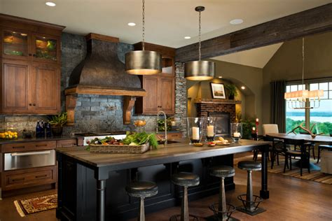 Witt Kitchen by 2014 Crbra Parade Of Homes Rustic Kitchen New York